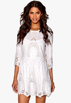 Make Way Adéle Dress White Bubbleroom.se