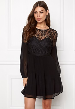 Make Way Admira Dress Black Bubbleroom.se