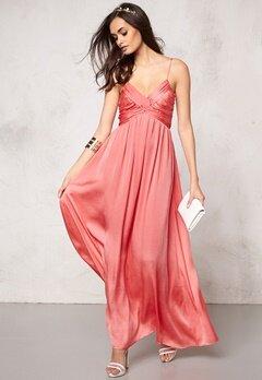 Make Way Aimee Dress Coral Bubbleroom.se