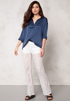 Make Way Arden Shirt Blue Bubbleroom.se