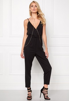 Make Way Audrey Jumpsuit Black Bubbleroom.se
