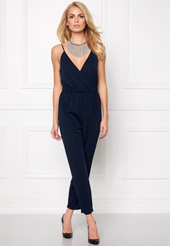 Make Way Audrey Jumpsuit Midnight blue Bubbleroom.se