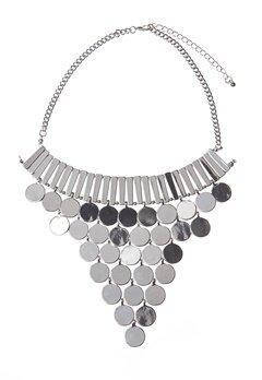 Make Way Aviana Necklace Silver Bubbleroom.se