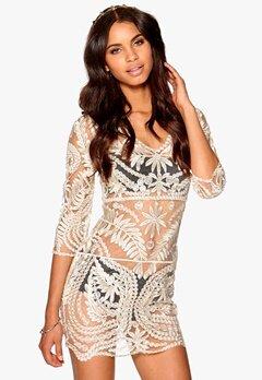 Make Way Candela Dress White/Gold Bubbleroom.se