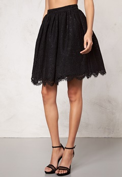 Make Way Elenorah Skirt Black Bubbleroom.se