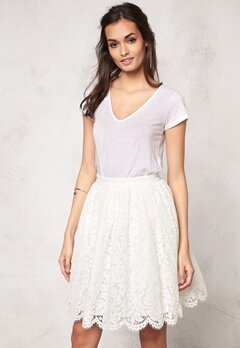 Make Way Elenorah Skirt White Bubbleroom.fi