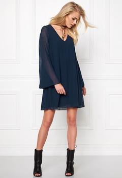Make Way Embla Dress Midnight blue Bubbleroom.se