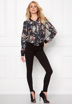 Make Way Emerly Bomber Jacket Multi/Floral Bubbleroom.se