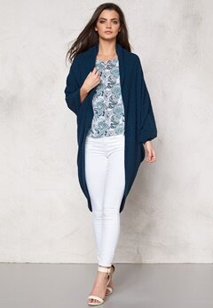 Make Way Garance Cardigan Dark blue Bubbleroom.se