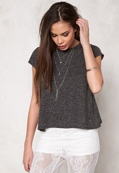 Make Way Haidy Top Black/Melange Bubbleroom.se