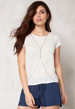 Make Way Haidy Top White/Melange Bubbleroom.se