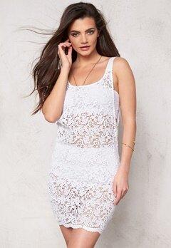 Make Way Hazel Dress White Bubbleroom.se