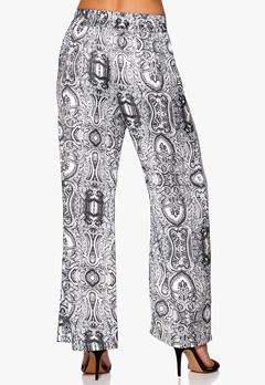 Make Way Hunya Pants Black/White/Pattern Bubbleroom.se