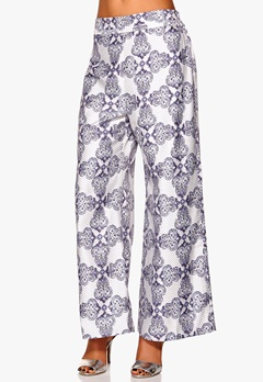 Make Way Hunya Pants Blue/White/Patterned Bubbleroom.se