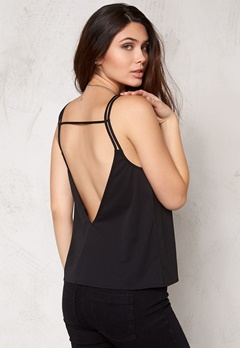 Make Way Jasmine Singlet Black Bubbleroom.se