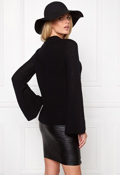 Make Way Jassy Sweater Black Bubbleroom.se