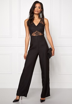 Make Way Kaylyn Jumpsuit Black Bubbleroom.se