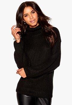 Make Way Lachlan Sweater Black Bubbleroom.se