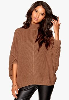 Make Way Ligia Sweater Camel Bubbleroom.se