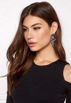 Make Way Lili Earrings BlackSilver Bubbleroom.se