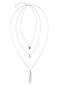 Make Way Marchelle Necklace Silver Bubbleroom.se