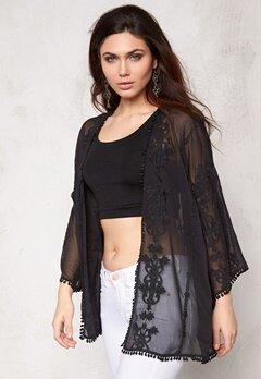 Make Way Mariah Kimono Black Bubbleroom.se