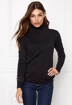 Make Way Marlowe Sweater Black Bubbleroom.se