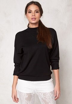 Make Way Maurizio Sweater Black Bubbleroom.se
