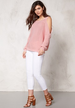 Make Way Melara Sweater Light pink Bubbleroom.se