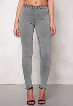 Make Way Nadya Jeggings Light grey Bubbleroom.se