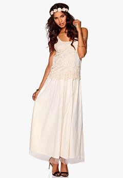 Make Way Noelia Dress Ivory white Bubbleroom.se