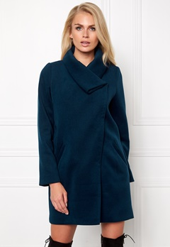 Make Way Novalie Coat Midnight blue Bubbleroom.se