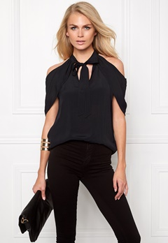 Make Way Nymeria Blouse Black Bubbleroom.se