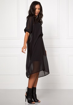 Make Way Pauline Dress Black Bubbleroom.se