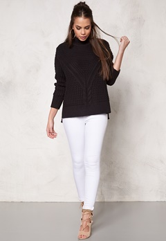 Make Way Raquel Sweater Black Bubbleroom.se