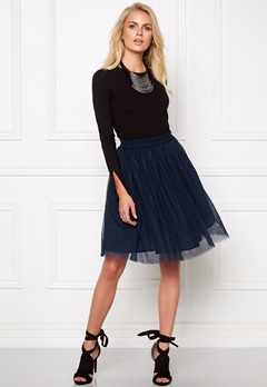 Make Way Rose Skirt Midnight blue Bubbleroom.se