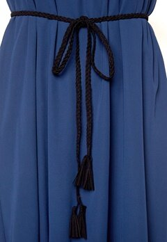 Make Way Roslin Tassel Belt Black Bubbleroom.se