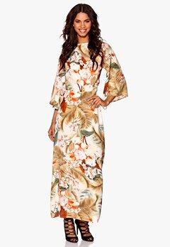 Make Way Siena Dress Offwhite/Multi/Flor Bubbleroom.se