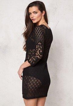 Make Way Tarras Dress Black Bubbleroom.se