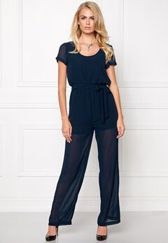 Make Way Tyene Jumpsuit Midnight blue Bubbleroom.se