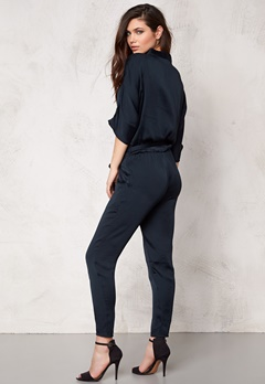 Make Way Valerie Jumpsuit Dark blue Bubbleroom.se
