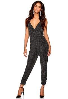 Make Way Vivienne Jumpsuit Black/Silver Bubbleroom.se