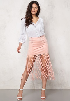 Make Way Yigal Skirt Light pink Bubbleroom.se