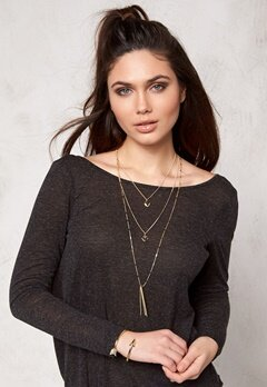 Make Way Marchelle Necklace Gold Bubbleroom.se