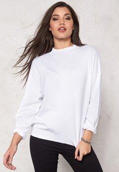 Make Way Maurizio Sweater White Bubbleroom.se