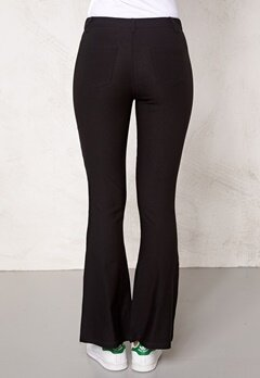 Chiara Forthi Megastretch Highrise Flare Black Bubbleroom.se