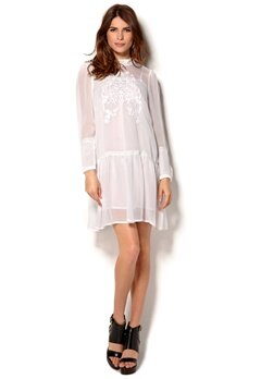 In Wear Meyas Dress Pure White Bubbleroom.se