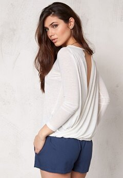 Make Way Mirella Top White/Melange Bubbleroom.se