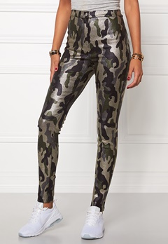 Mixed from Italy Glitter Camo Jeggings Army Camo Bubbleroom.se