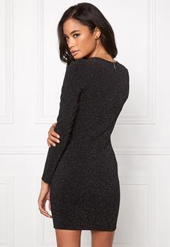 Model Behaviour Amanda Dress Sparkling Black Bubbleroom.se